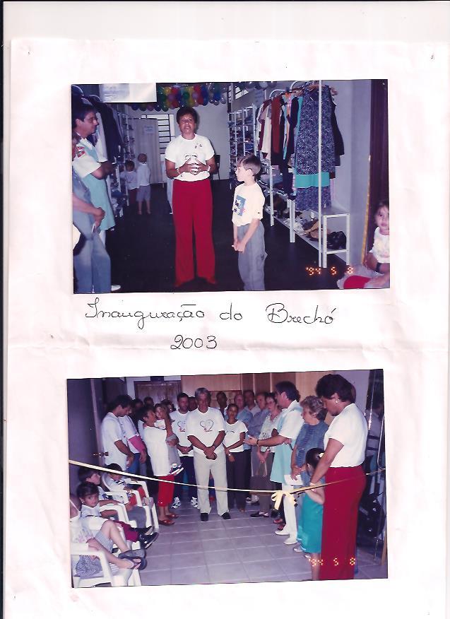 Inauguração do Brechó