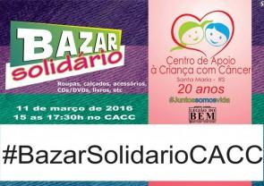 Bazar Solidário dos 20 anos
