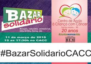 Bazar e Leilão Solidários do CACC