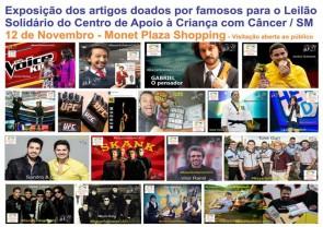 Leilão Solidário 12 de novembro