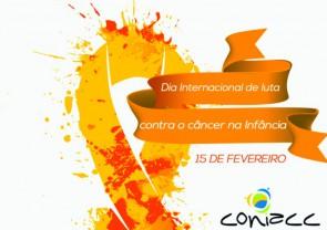 15 de fevereiro é o dia internacional de luta contra o câncer na Infância. #JuntosSomosVida